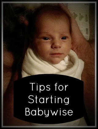 How to Start Babywise!