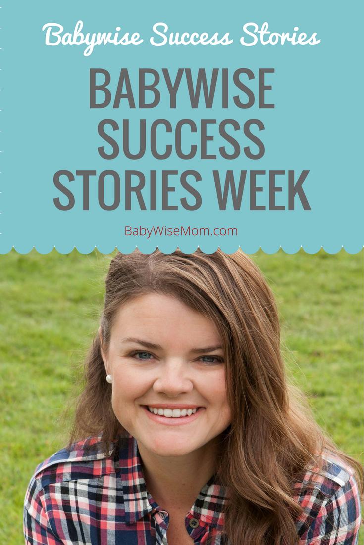 Babywise Success Stories Week 2017