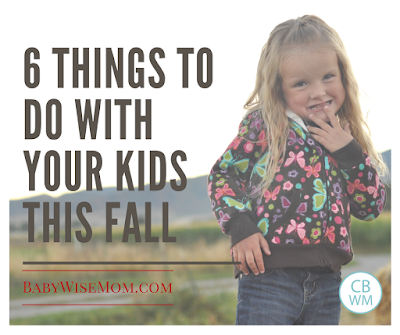 6 Things to Do With Your Kids This Fall. What to do with your children in the fall. Great family activities and activities that make great family traditions year after year.