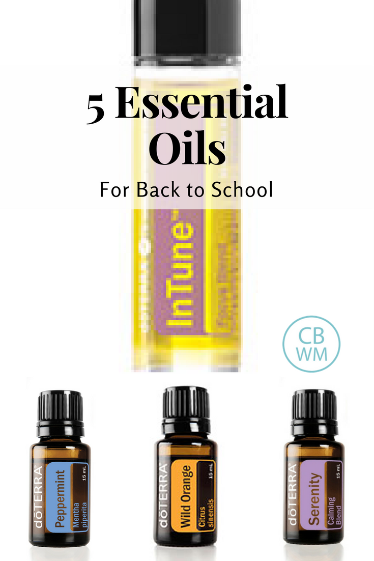 5 Essential oils for back to school