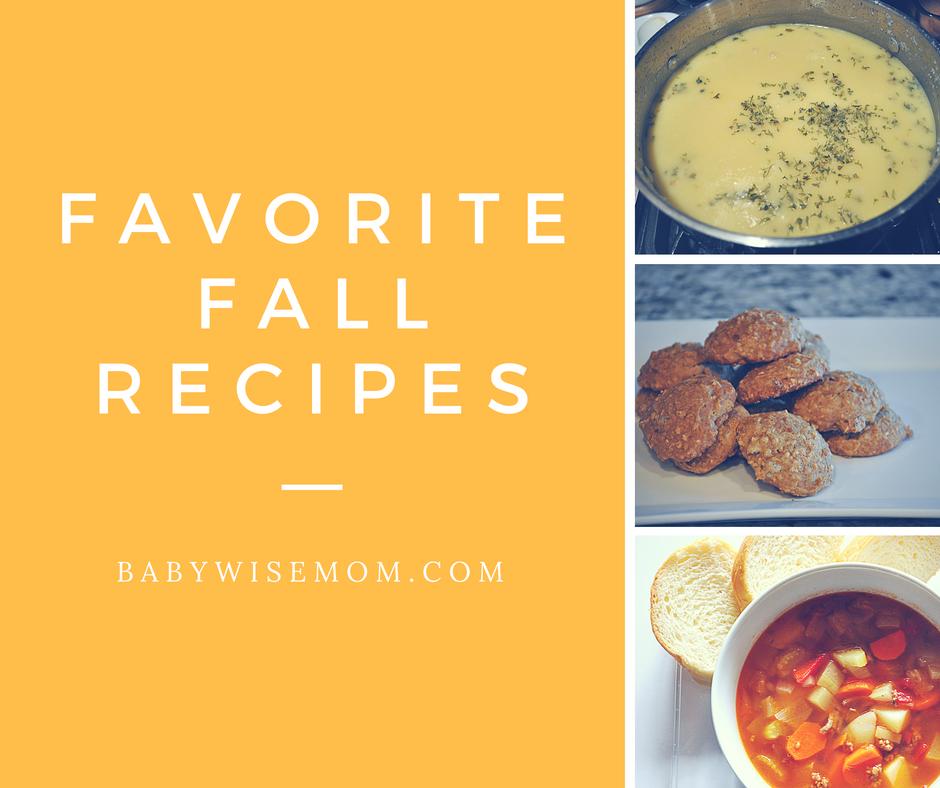Fabulous Fall Recipes