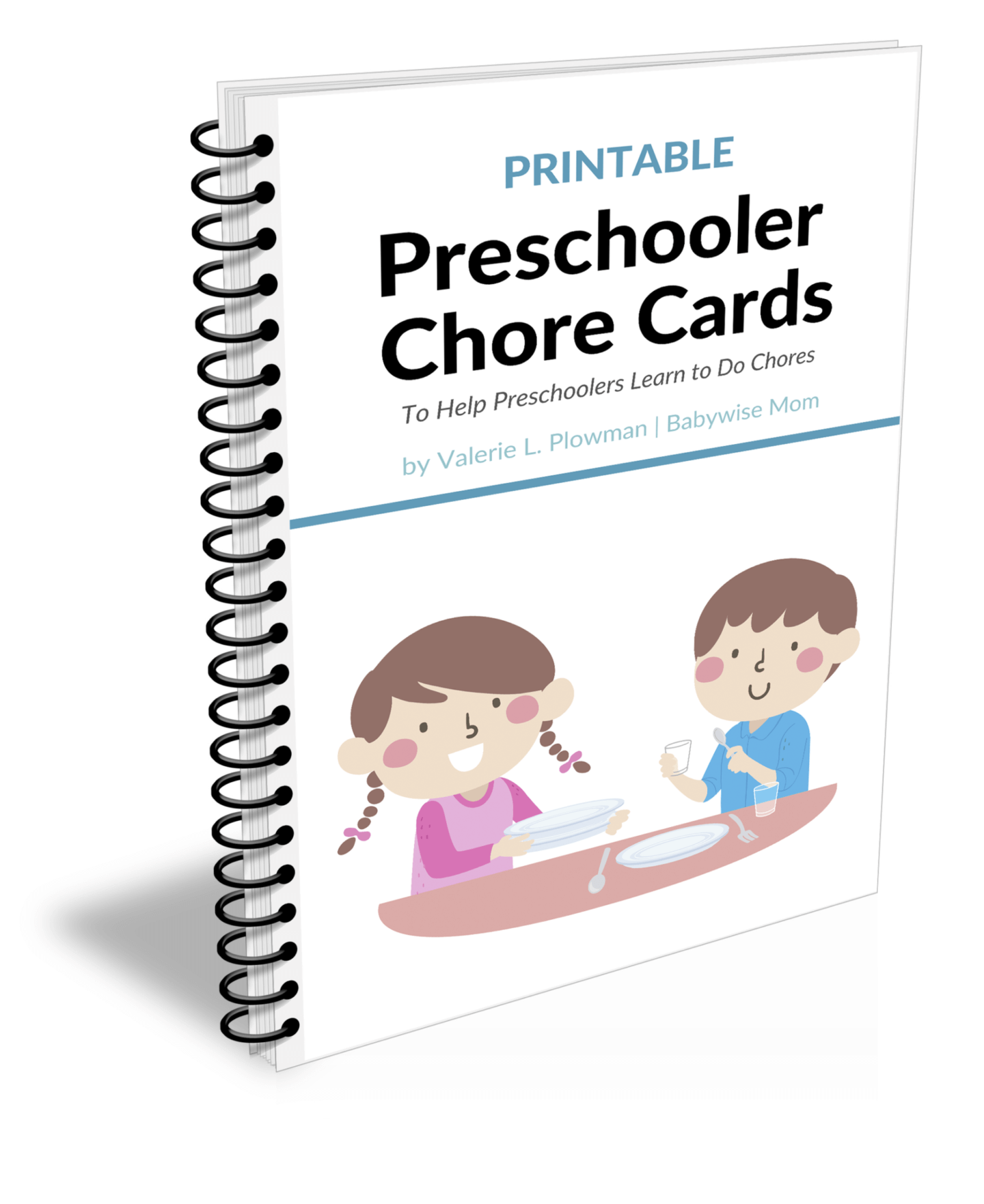 Preschooler Chore Cards and Chore Chart Pack