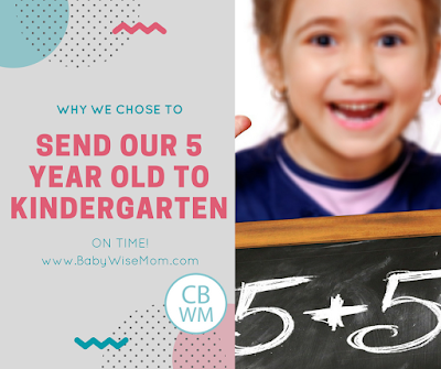 Why We Chose To Send Our Daughter to Kindergarten On Time