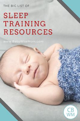 The Big List of Sleep Training Resources