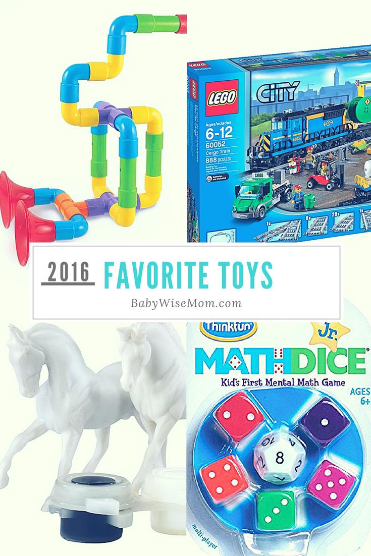 Favorite Toys 2016