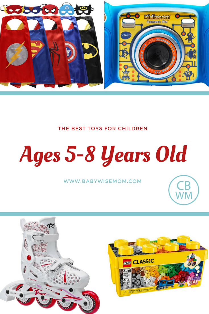 Best Toys for Children Ages 5-8 Years Old