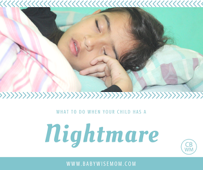 What To Do When Your Child Has a Nightmare | Nightmare | #nightmares | sleep help
