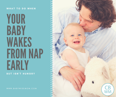 What To Do When Your Baby Wakes Early But Isn't Hungry