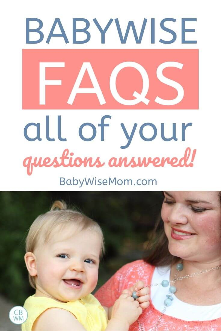 Babywise FAQs pinnable image