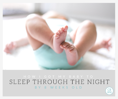 How I Got My Baby To Sleep 9 Hours by 8 Weeks Old   baby sleep   sleeping through the night   #babysleep