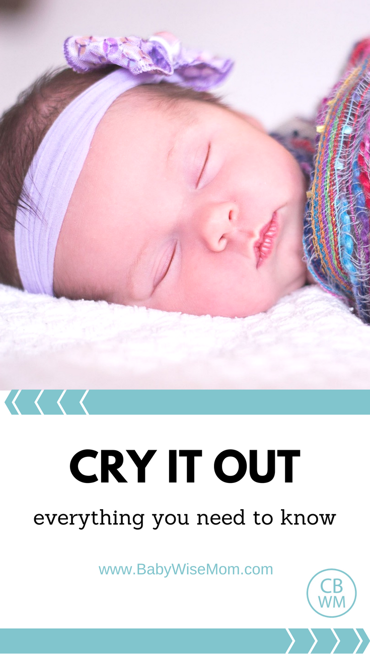 Everything You Need to Know About Cry It Out | baby sleep | cry it out | sleep training | #cryitout #babysleep