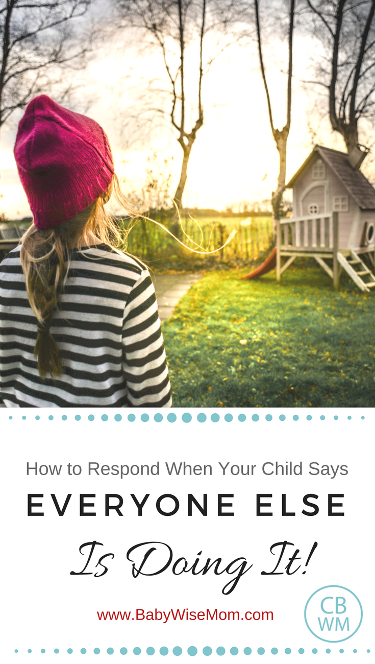 """How to Respond to """"Everyone Else is Doing It"""" 