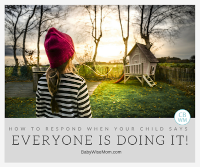 "How to Respond to ""Everyone Else is Doing It"" 