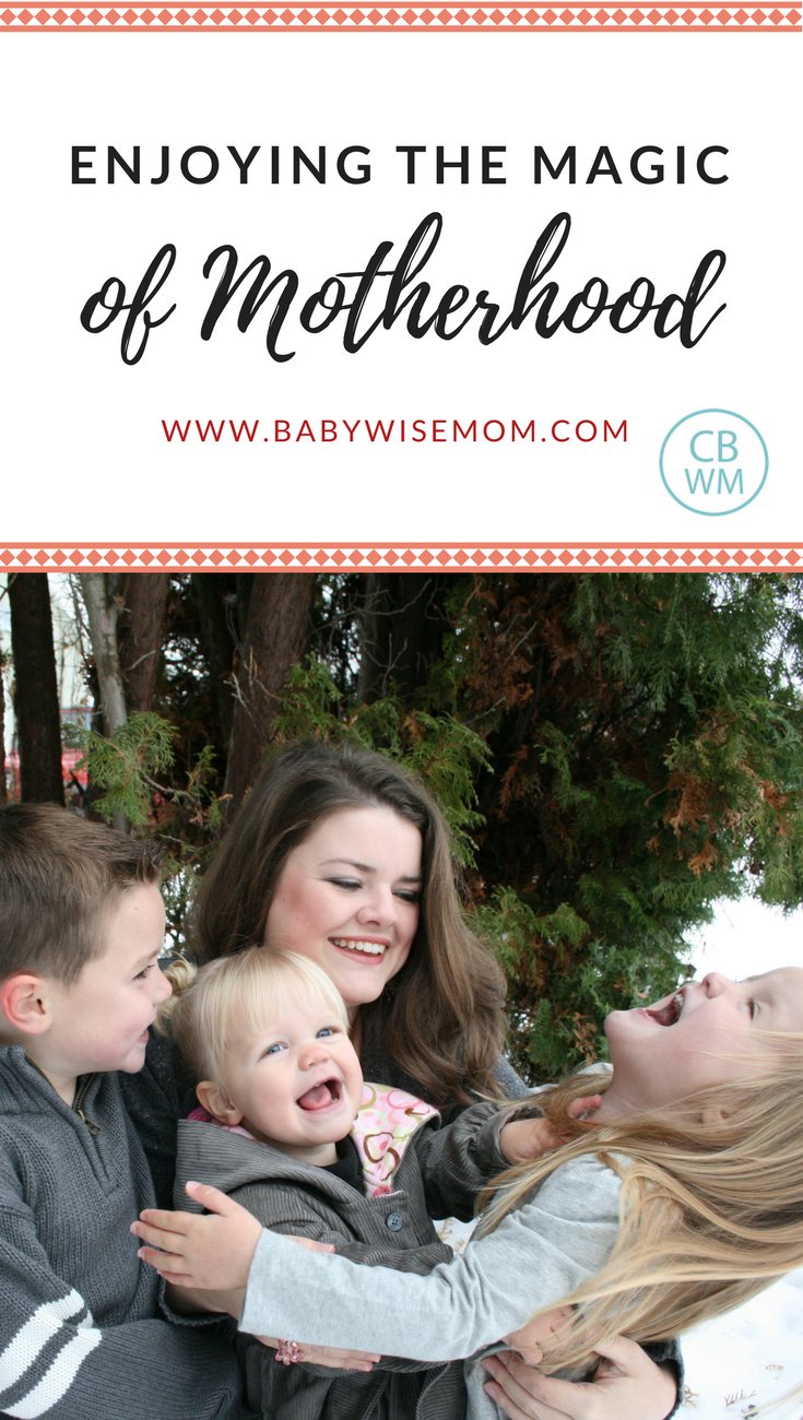 Enjoying the Magic of Motherhood | live in the moment | #optimism