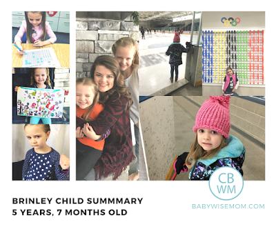 Brinley Child Summary: {5 Years 7 Months Old}