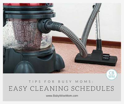 Easy Cleaning Schedule Options for Busy Moms