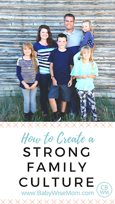 How to Create A Strong Family Culture to keep your relationship with your children strong