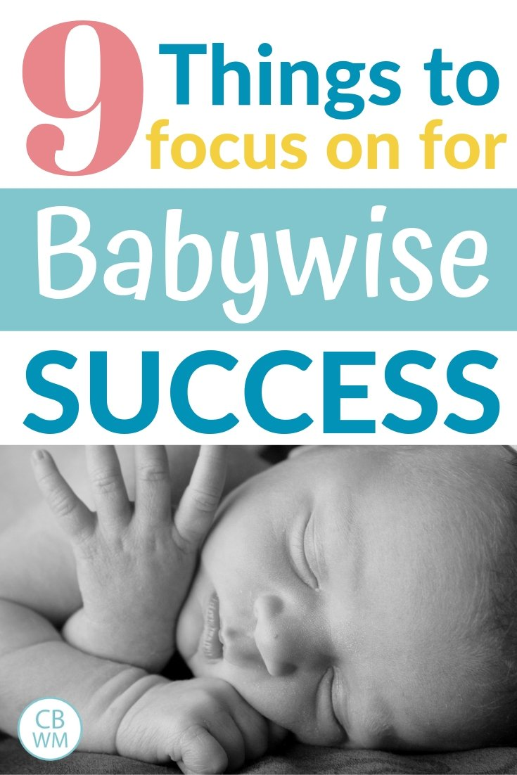 How To Do On Becoming Babywise. A full step-by-step guide written by the Babywise Mom. How to use the Babywise method to get baby sleeping.
