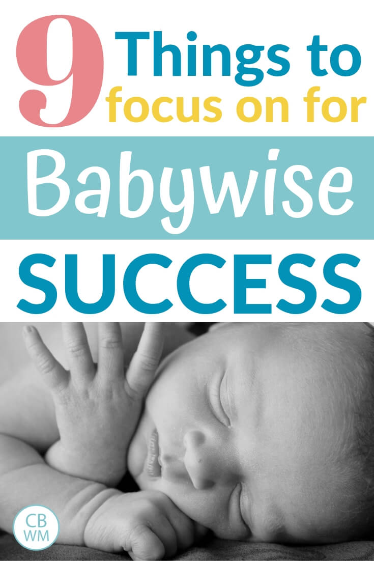 Newborn baby photo with text overlay