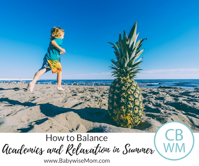 How to Balance Academics with Relaxation in Summer. Have summer fun but also take time to stay up on academic skills to avoid summer setback.