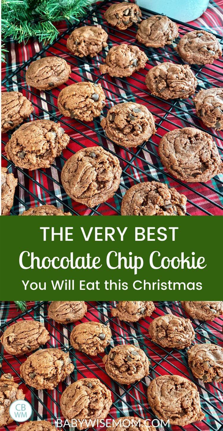 The Very Best Chocolate Chips Cookie Recipe Pinnable Image