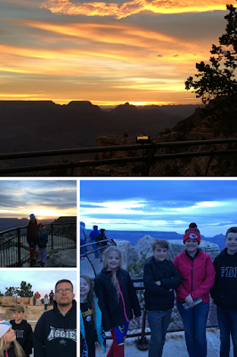 Sunrise at the Grand Canyon Mather Point