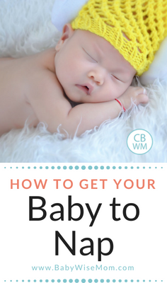 How to get your baby to take great naps. Tips for getting healthy sleep.