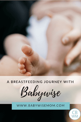 A Breastfeeding Journey with Babywise. Breastfeeding can absolutely work with Babywise. Here is one mom's journey on how she did both.