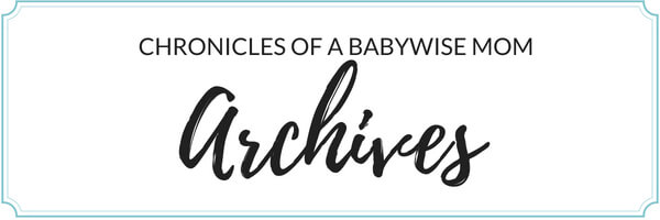 Babywise Blog Archives