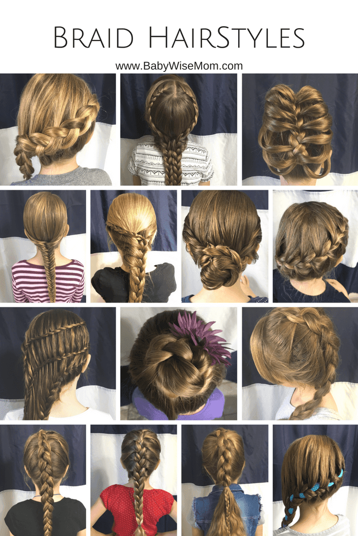 14 Braid Hairstyles for Girls