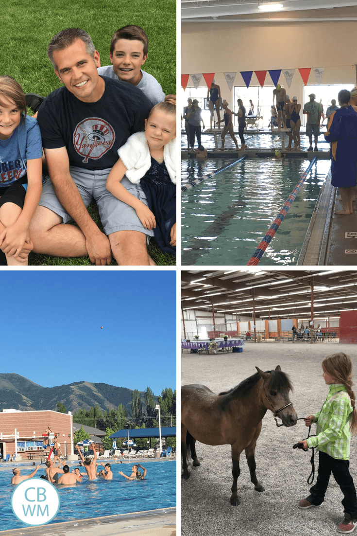 Fathers Day, swim meet, swimming, and horse show