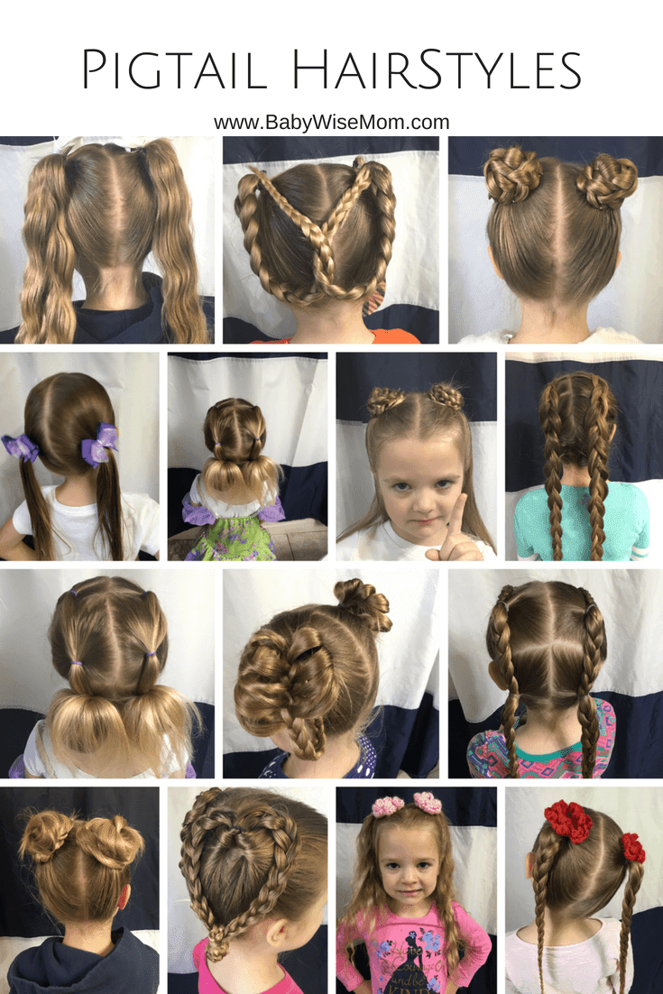 14 Pigtail hairstyles for girls