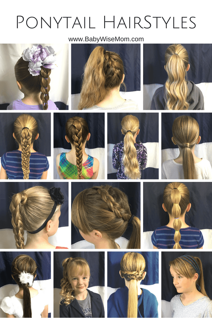 14 Ponytail hairstyles for girls