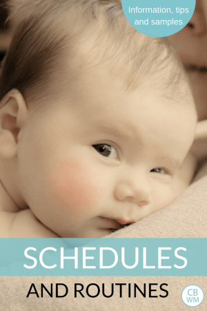 Schedules for babies and children. Everything you need to know to create a great schedule for your child and family.