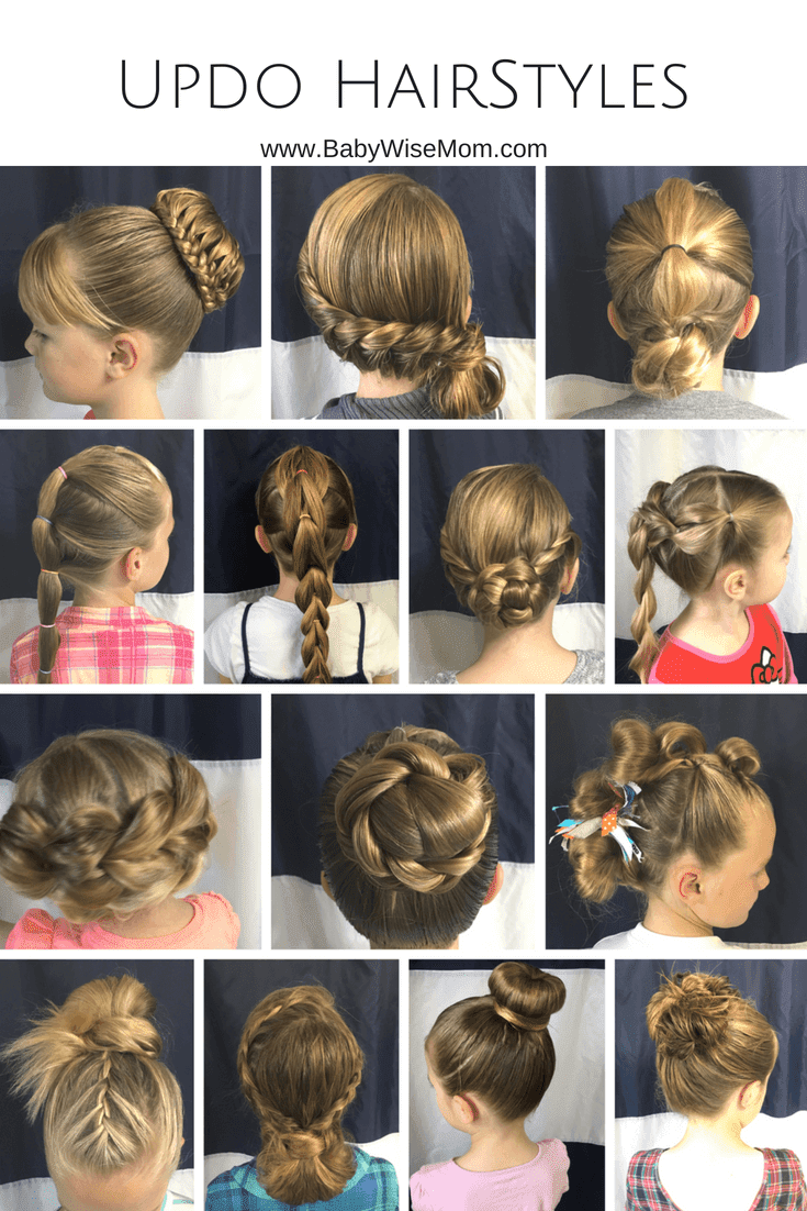 14 Updo Hairstyles for girls