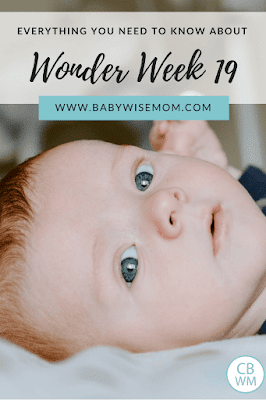 Everything You Need To Know About Wonder Week 19. What is wonder week 19, or leap 4. How to help baby through wonder week 19. What baby learns during wonder week 19 and what to expect.