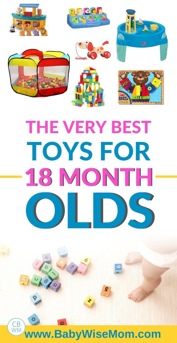 Toys for 18 month olds pinnable image