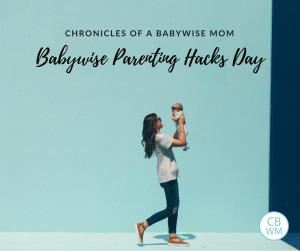 Parenting Hacks from Real Babywise Moms. Tips to make parenting life easier. Shopping hacks, medicine hacks, discipline hacks, childcare hacks, sharing hacks, showering and bathing hacks, chore hacks, toy hacks, organizing hacks, travel hacks, and more.