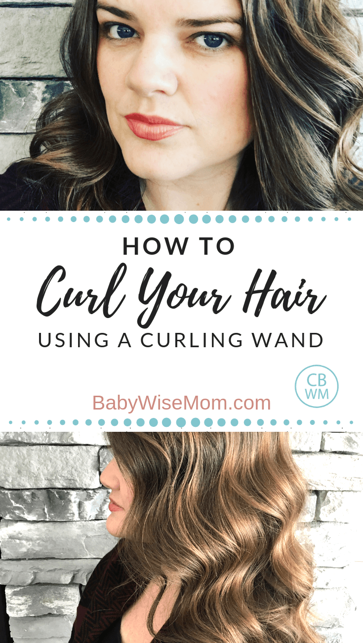 How To Curl Your Hair With a Curling Wand. A video tutorial showing you how to curl your hair using a curling wand. The results of a L'ANGE 25mm wand.