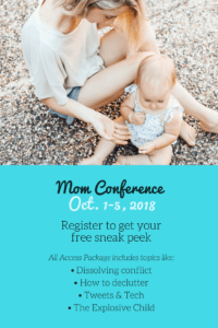 Free online conference for moms! Learn about conquering the overwhelm and parenting in the digital age.