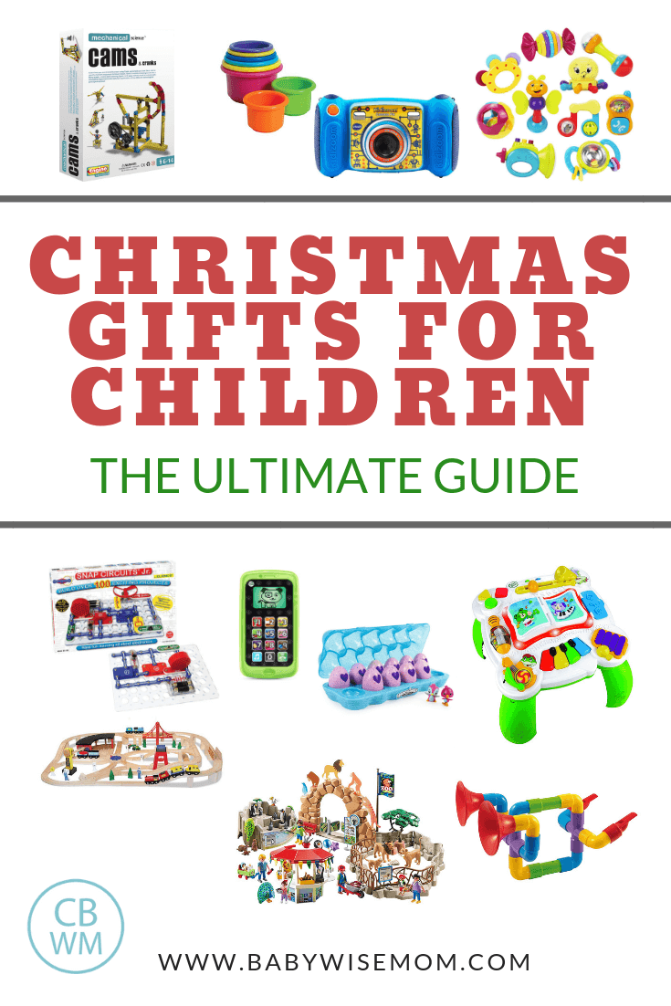 Christmas Gift Ideas for Children: The Ultimate Guide with images of toys