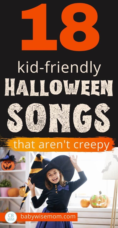 Halloween playlist for kids