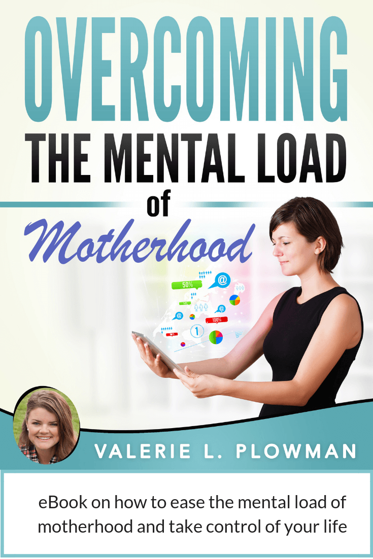 Overcoming the Mental Load of Motherhood. An eBook to help women manage the overwhelm of motherhood and life eBook cover