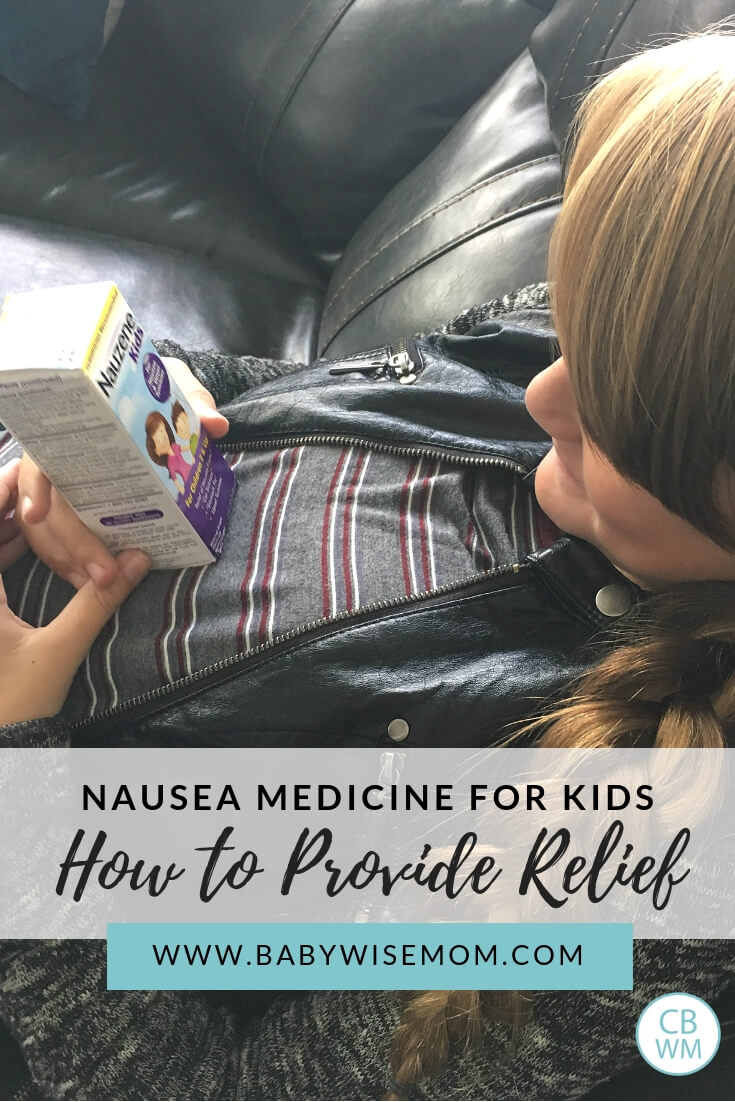 Nausea Medicine for Kids. How to provide relief for upset tummies. Help your child with an upset tummy from motion sickness or upset stomach from sickness with a picture of a sick child