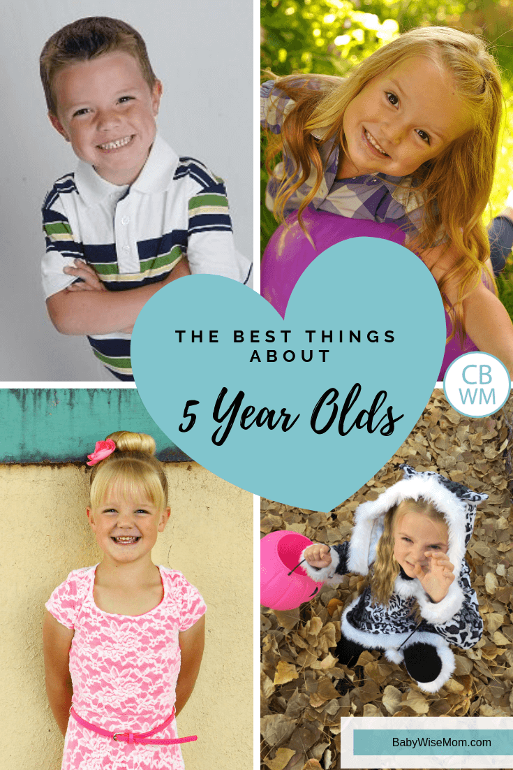 Best Things About Five Year Olds. The ten best things about having a five year old. Things to cherish and savor that year.