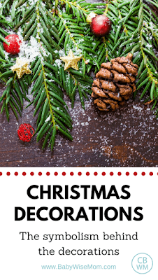 The Symbolism Behind Your Christmas Decorations. Understanding what the Christmas symbols stand for. You can teach these to your children to help them think about more than gifts at Christmas.