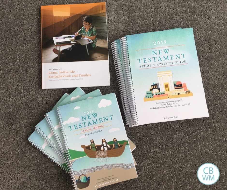 New Testament Study Material Review. A review of the study material created by the Red Headed Hostess for the Come Follow Me New Testament manual.