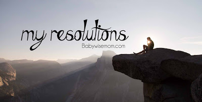My resolutions