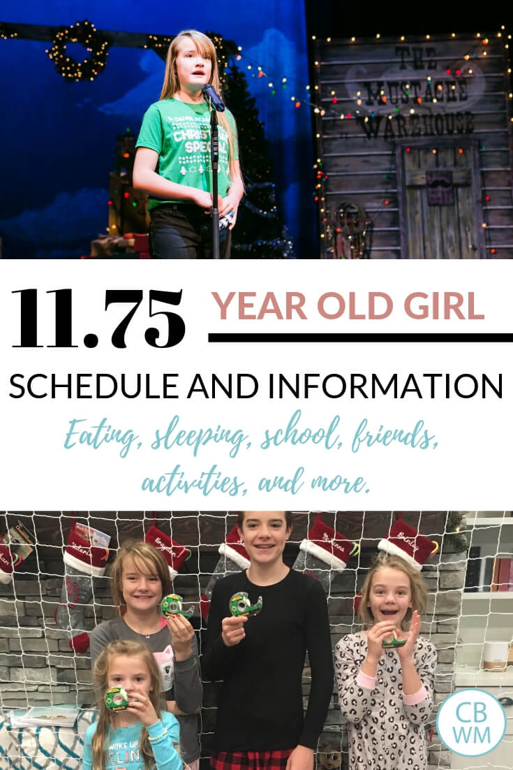 11 year old tween girl information. Talking about the 11 years, 9 month old girl. Preteen changes, schedule, and daily life.