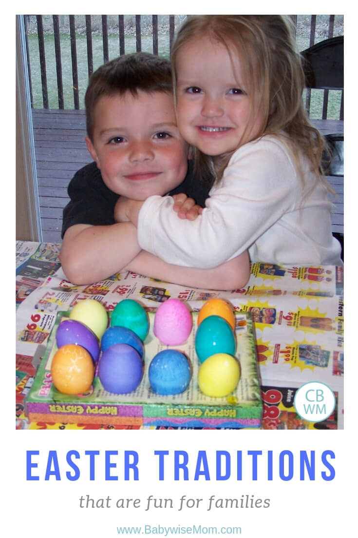 Fun and Simple Easter Traditions for Families. 8 great traditions your children will love to do year after year as you celebrate Easter.